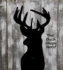 The Buck Stops Here! (Brian 104) Tags: silhouette buck deer artwork saying barnboard