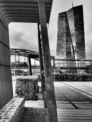 EZB - ECB - BCE, Frankfurt am Main (alterahorn) Tags: finanzplatz hochhaus wolkenkratzer gebäude main frankfurt banquecentraleeuropéenne europeancentralbank europäischezentralbank bce ecb ezb