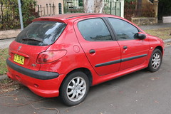 2006 Peugeot 206 T1 XR (jeremyg3030) Tags: 2006 peugeot 206 t1 xr cars french
