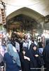 Entrance to Grand Bazaar - Tehran Iran (WanderingPhotosPJB) Tags: iran tehran grandbazaar market fruit nuts entrance passage alley chador islamicrepublic islam