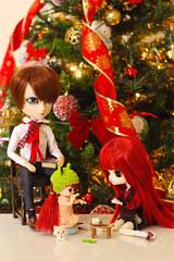 Titia (♥ Thai Weber) Tags: daltina littledalpenpen taeyang taeyanggackt dal littledal doll brdolls christmas groovedolls pullipdolls toys