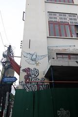 24- Day 8- graffiti near Khao San Rd- 1 (_gem_) Tags: travel bangkok thailand asia southeastasia khaosan khaosanroad graffiti streetart architecture building design city street urban