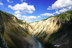 Grand Canyon of the Yellowstone from the Lower Falls, USA (Andrey Sulitskiy) Tags: usa wyoming yellowstone