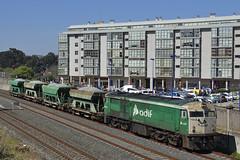 O Burgo (REGFA251013) Tags: alco 2151 tren train comboio adif coruña galicia