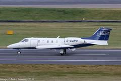 D-CAPO - 1978 build Gates LearJet 35A, arriving on Runway 33 at Birmingham (egcc) Tags: 35a159 bhx birmingham bizjet dcapo egbb elmdon gates jei jetexecutive jetexecutiveinternationalcharter learjet learjet35a lightroom n93c n93ck
