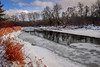 Speed River on a cold, winter day (Olivera White Photography) Tags: guelph oliverawhite bridge speed river