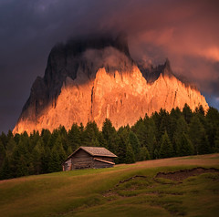 Cottage under the mountain (Dreamy Pixel) Tags: alpe alpine alps amazing autumn background beautiful blue color di dolomite dolomites dolomiti europe famous farm grass green hiking italy landscape meadow mountain mountains nature outdoor outdoors panorama park peak resort rock scenery scenic siusi ski sky south spring summer sun sunlight sunrise sunset tourism travel tree tyrol vacation valley