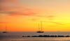 lerici sunset (poludziber1) Tags: street skyline summer sky sea sunset colorful color colorfull clouds boat yellow light landscap liguria lerici italia italy orange