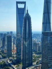 Superskyscrapers Shanghai (dirklie65) Tags: shanghai china top superscyscrapers scyscrapers world financial center jin mao tower tallest buildings hochhäuser wolkenkratzer