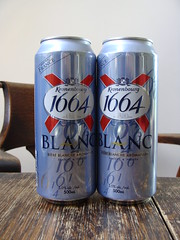 Kronenbourg 1664 White (knightbefore_99) Tags: french france beer pivo cerveza tasty 1664 malt hops can kronenbourg import lager pale wheat blanche alsace nice