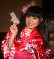 Traditional Geisha Would Pour Tea (emotiroi auranaut) Tags: girl woman lady kimono sweet lovely cute charming adorable beauty beautiful gorgeous nice smile smiling japan japanese asia asian robe tradition traditional bunny rabbit singer idol actress hair ponytail ponytails