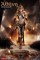 PHICEN PL2017-106 Athena Ancient Greek Goddess of Wisdom - 00 (Lord Dragon 龍王爺) Tags: 16scale 12inscale onesixthscale actionfigure doll hot toys phicen tbleague seamless female