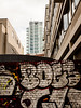 The Boss is on the other side. (franleru1) Tags: graffiti london londres omdem5 olympus photoderue streetphotography uk urbex architecture architecturecontemporaine eau tag urbain urban