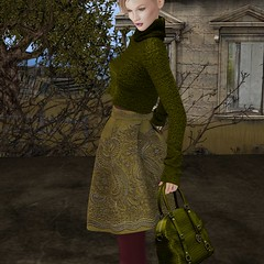 68 Main Event November - Ghee (~Jaily Bailey~) Tags: 68main~theevent~ november2017 event ghee bouclé embroidered secondlife sl olive lime coalesce layering opaque classic croc tote bag tableauvivant denversshapes mina lelutka maitreya hazardous fluxsurmer jaily jailybailey model modeling blog blogger blogging essentials