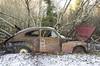 PV 544 (Dawid Rajtak) Tags: pv544 volvo oldcar oldtimer rust decay abandoned junkyard carjunkyard nikon