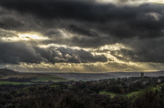 (Glen Parry Photography) Tags: glenparryphotography hebdenbridge calderdale clouds d7000 hebden heptonstall nikon sigma trees viewpoint vista church stoodleypike