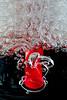 Blown Foam 2 (Mark Wasteney) Tags: macromondays2nds bubbles foam straw red air