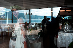 Wedding at Lake Vico, Italy (Emanuele Cardinali) Tags: matrimonio wedding nozze bride sposa landscape panorama lago di vico lake lazio italia italy fujifilm documentary reportage candid reflection riflesso restaurant ristorante fotografo matrimonialista
