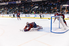 "Kansas City Mavericks vs. Kalamazoo Wings, November 29, 2017, Silverstein Eye Centers Arena, Independence, Missouri.  Photo: © John Howe / Howe Creative Photography, all rights reserved 2017 • <a style=""font-size:0.8em;"" href=""http://www.flickr.com/photos/134016632@N02/26968696719/"" target=""_blank"">View on Flickr</a>"
