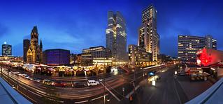 Breitscheidplatz Skyline - Berlin Panorama
