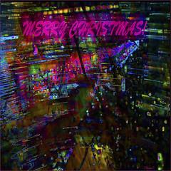 Christmas Night Funnel (Tim Noonan) Tags: urban energy pov christmas