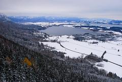 RU_201712_Buchenberg_010_x (boleroplus) Tags: foret horizontal lac neige nuage parapente randonnee vueaerienne