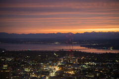 DSC02499 (www.mikereidphotography.com) Tags: sunrise seattle skyviewobservatory rainier 85mm 200mm 1635mm mirrorless sony canon