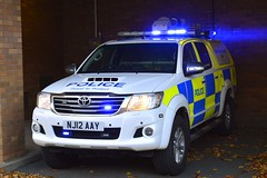 NJ12 AAY (S11 AUN) Tags: northumbria police toyota hilux pickup truck collision investigation unit ciu 999 emergency vehicle nj12aay