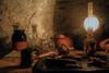 SL031117 Judges Lodging 11.jpg (Sh4un65_Artistry) Tags: painteffect books ceramics textured pottery tools kitchenalia painterly topazimpression potteryandglass digitalart topaz lighting digitalpainting stilllife topaztextureeffects paintedphoto judgeslodging places artwork