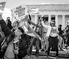 Make Puerto Rico Great Again (ep_jhu) Tags: crowds x100f jonesact puertorico unitymarchforpuertorico dc fujifilm cenizas march peñuelas fuji lincolnmemorial washington sign protest flag pr districtofcolumbia unitedstates us ec17