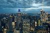 Blick vom Rockefeller Center (Katrin Tobehn nirtak_bln) Tags: new york rockefeller center 2017 night nacht