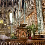 Ottawa Ontario ~ Canada ~ Notre-Dame Cathedral Basilica ~ National Historic Site of Canada - Altar - Pulpit thumbnail