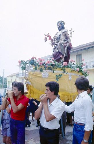 Grazzanise (CE), 1974, Festa di San Giovanni Battista.