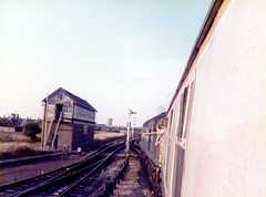 40082 leaving Blackpool North. 1984. (Mr Corbett's stuff) Tags: 40082 blackpool north class 40 diesel loco