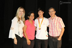 """Medalhistas - 2017 