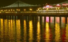 BayBridge (shishirmishra1) Tags: night waterfront bridges san fransisco bay bridge