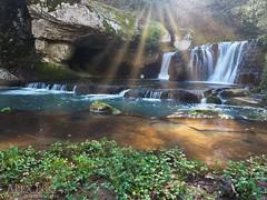 The Waterfall (Alex Pro Image And Vision) Tags: water waterfall viterbo chia paesaggi pasolini landscape sun autumn