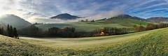 Rolling Mist (matt.kueh) Tags: view panorama iphone morning sun sky mist fog morgenstimmung nebel landscape landschaft iphone6s