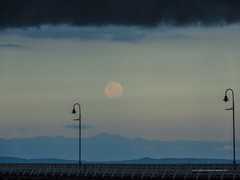 Full moon rising under shelf cloud at Sandgate Pier Shorncliffe P1210648h (john.robert_mcpherson) Tags: bay bramble full moon shelf cloud