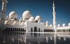 Sheikh Zayed Mosque (codeseven) Tags: sheikh zayed mosque white blue sky desert uae emirates abudhabi dhabi reflections grand