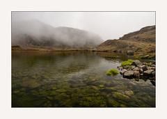 little lake on st gotthard pass (DeCo2912) Tags: lake see fog mist st gotthard san gottardo pass passo alpen schweiz tessin ticino