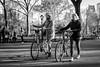 30 for 30 - A Walk in Central Park (Phil Roeder) Tags: newyorkcity manhattan centralpark blackandwhite monochrome leica leicax2 park bicycle