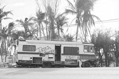 (Ciampy) Tags: trash caravan irma storm keys bw