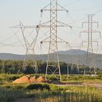 Lignes haute tension à Val-Bélair, Québec thumbnail