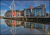 PRINCIPALITY STADIUM REFLECTION (malcolm thorngate) Tags: perfection congrats