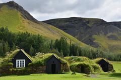 Icelandic Turf Houses 4 (Amaury Laporte) Tags: europe iceland skogar folkmuseum traditional history