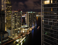 Miami Lights (Neillwphoto) Tags: miami brickell night towers nightscape cityscape river