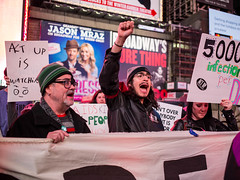 4N3A5404 (WorkingFamiliesParty) Tags: actupnewyork act up newyork ny protest hiv aids timessquare action community decriminalize international problem people united