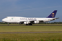 Saudia Cargo | Boeing 747-400SF | TC-ACG | 05.07.2017 | Amsterdam - Schiphol (Maciej Deliś) Tags: saudi arabian airlines cargo saudia boeing 747400sf b747 b744 special freighter tcacg amsterdam schiphol airport act