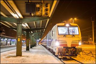 Lokomotion 193 772 'Viola' + Schnee Express, Schwarzach - St. Veit (A)